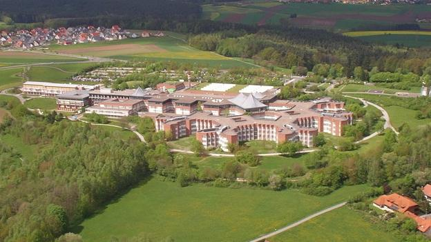 Luftaufnahme des Klinikums Bayreuth