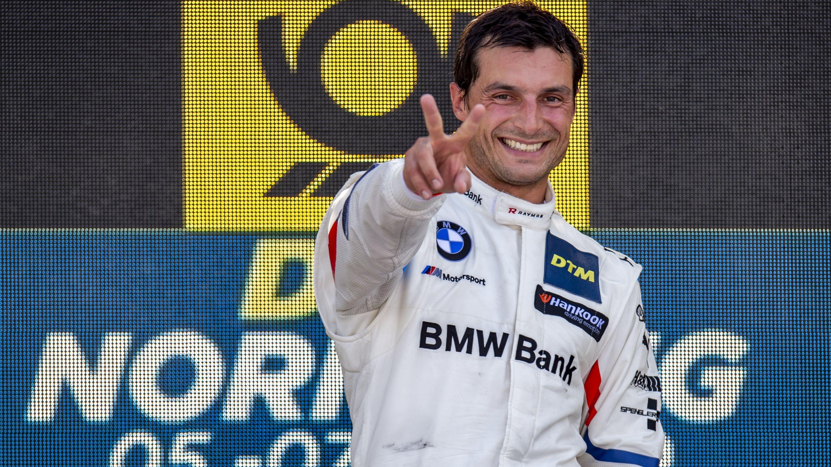 Bruno Spengler nach seinem Sieg beim DTM-Rennen auf dem Nürnberger Norisring.