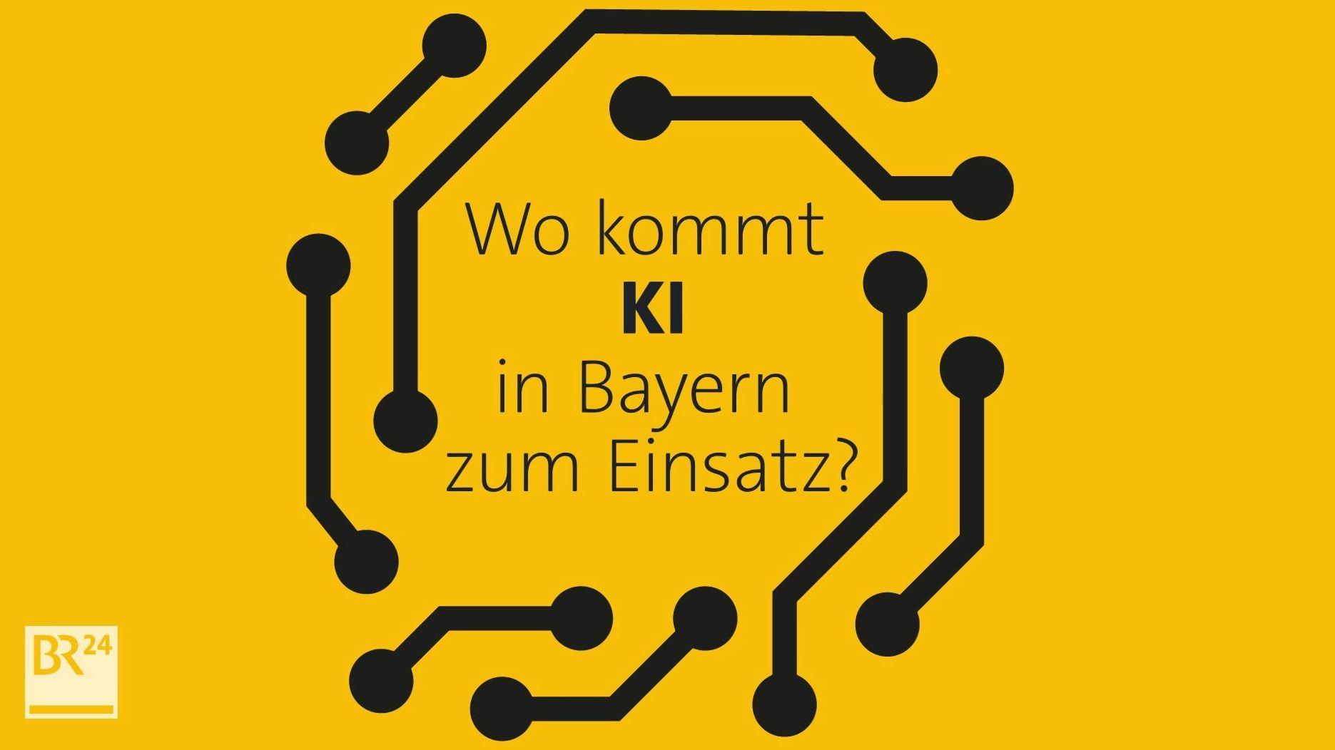 Wo kommt KI in Bayern zum Einsatz?