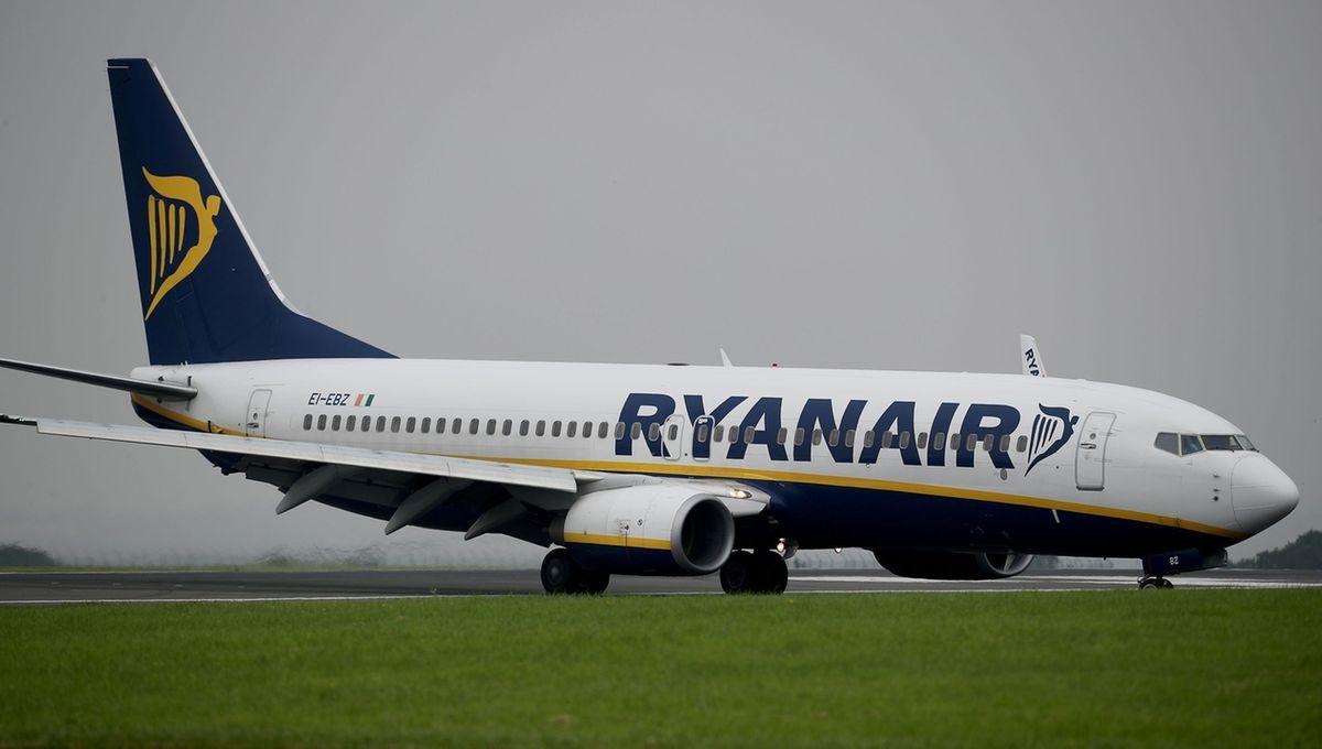 Ein Ryanair-Flugzeug (Symbolbild)