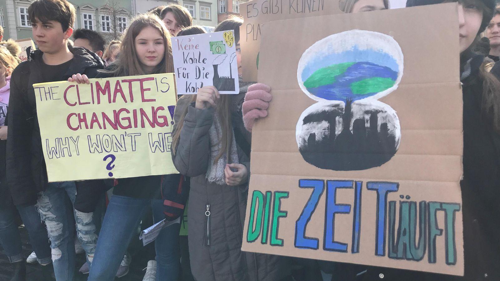 Fridays for Future: Klimastreik-Aktionen in Hof und Coburg