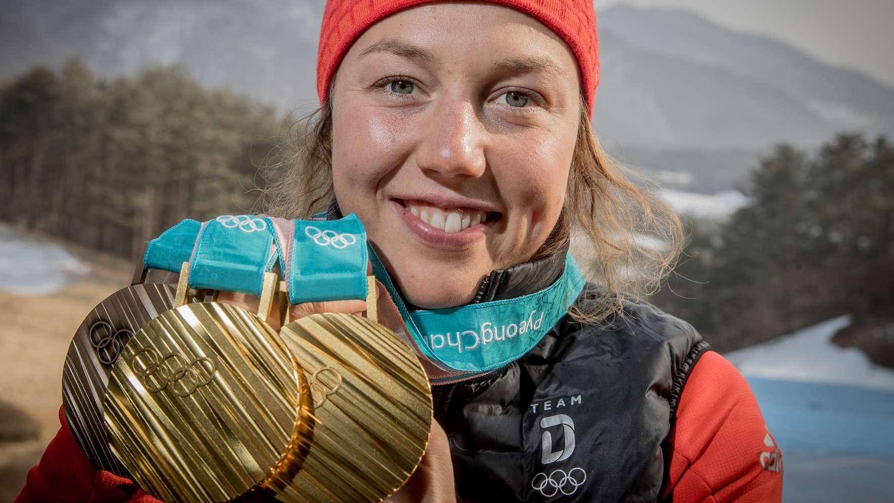 Laura Dahlmeier in Pyeongchang 2018