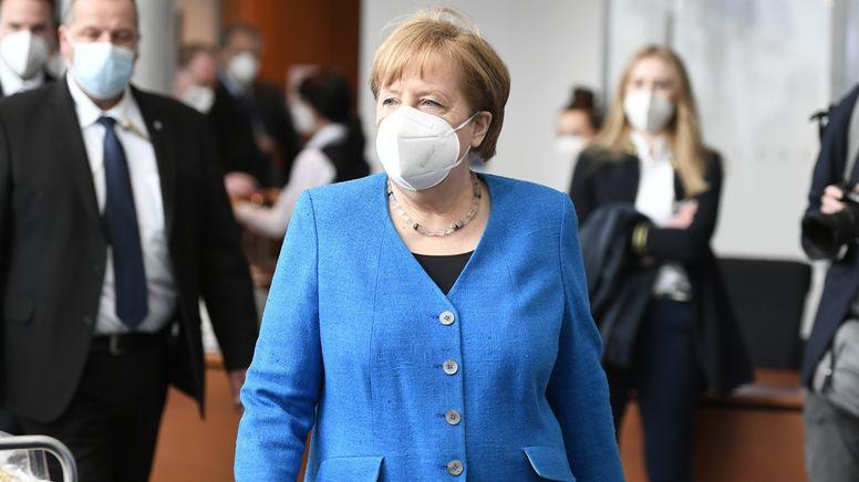Bundeskanzlerin Angela Merkel (CDU) geht zum Wirecard-Untersuchungsausschuss. Sie ist als Zeugin geladen. | Bild:dpa-Bildfunk/Magdalena Tröndle