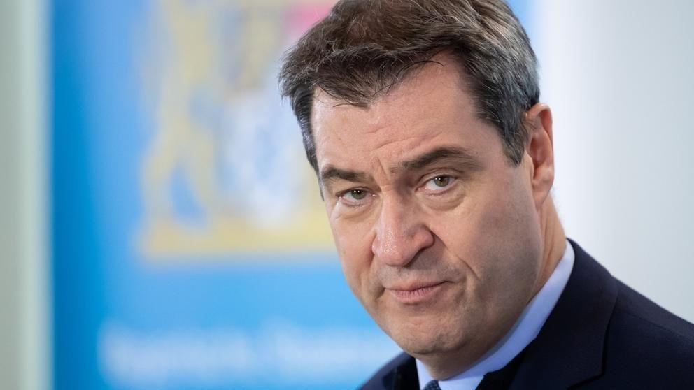 Bayerns Ministerpräsident Markus Söder, CSU.