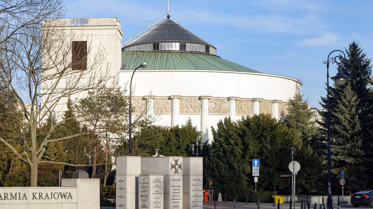 Der Seim - Tagungsort der polnischen Nationalversammlung