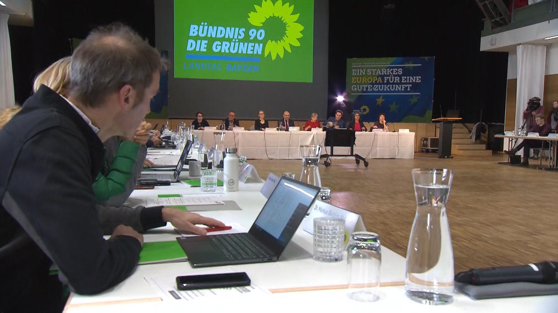 Fraktionsklausur der Grünen in Regensburg