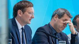 Opposition fordert Rückzug von Verkehrsminister Reichhart   Bild:Peter Kneffel/dpa