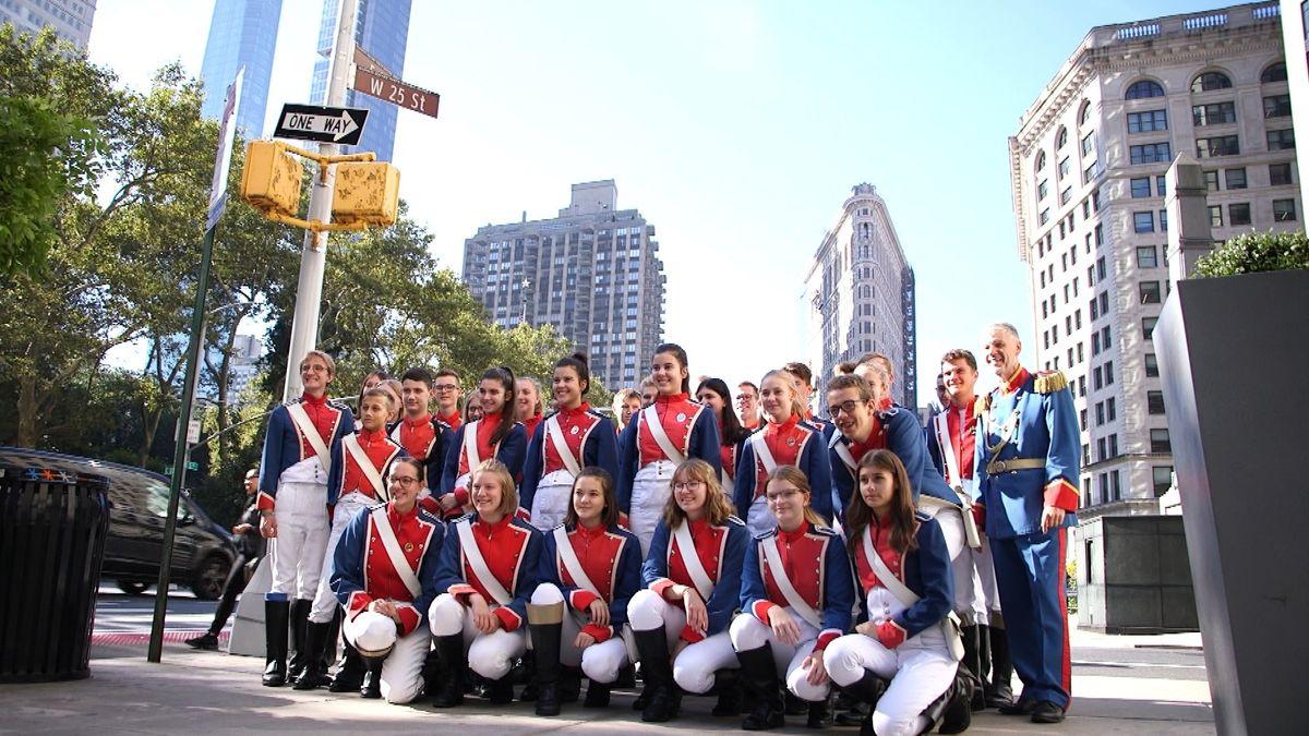 Jugendmusikkorps der Stadt Bad Kissingen in New York