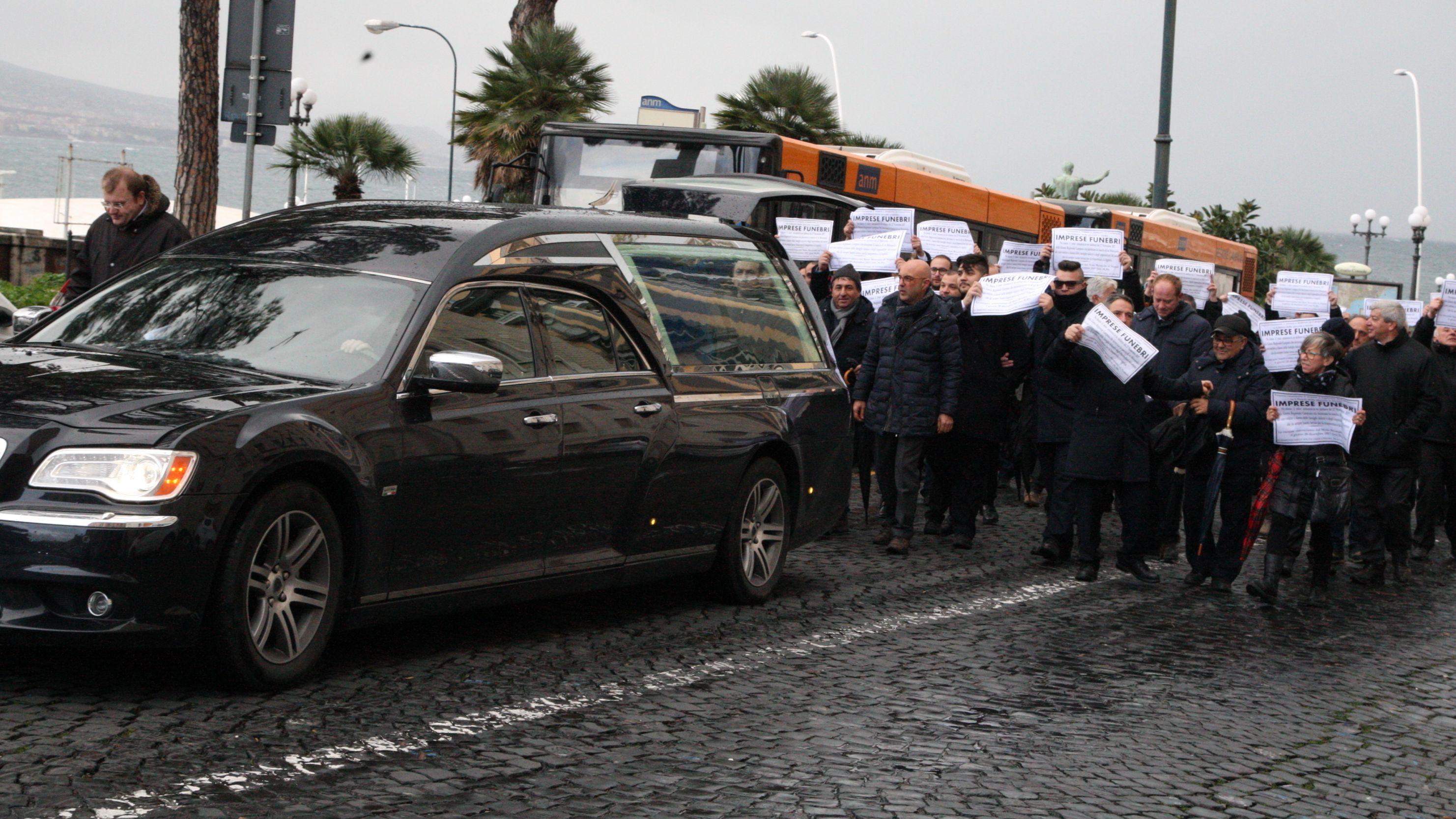 Streik von Bestattungsunternehmen in Italien
