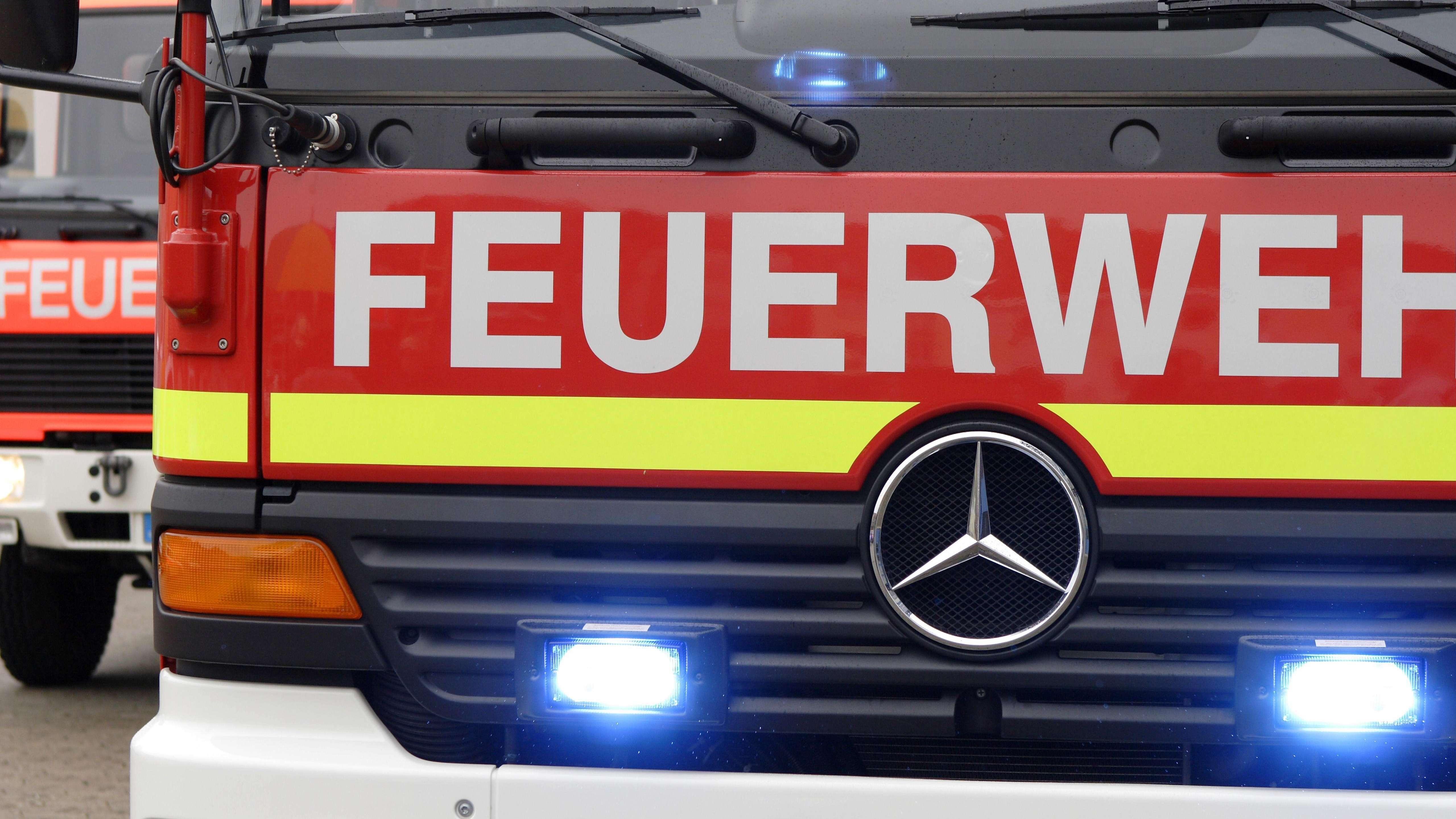 Feuerwehrauto (Symbolbild)