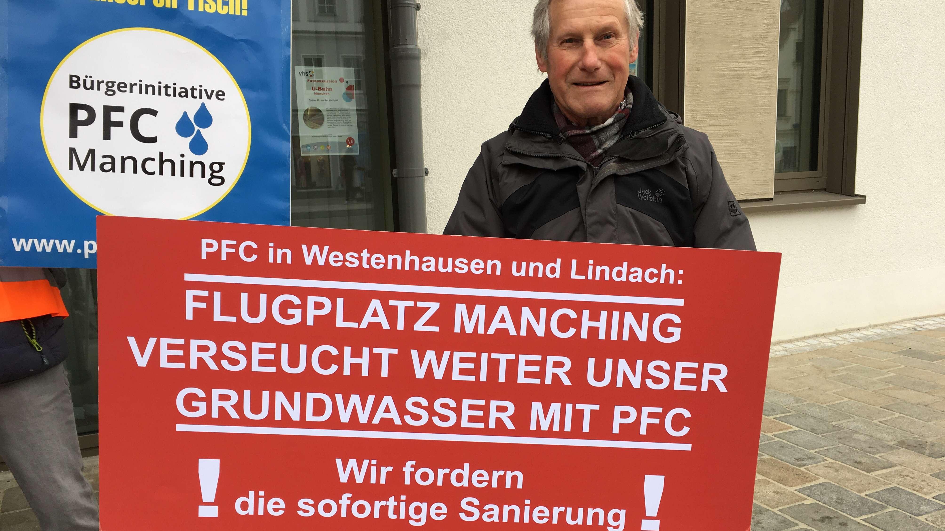 Protest gegen PFC-Verseuchung