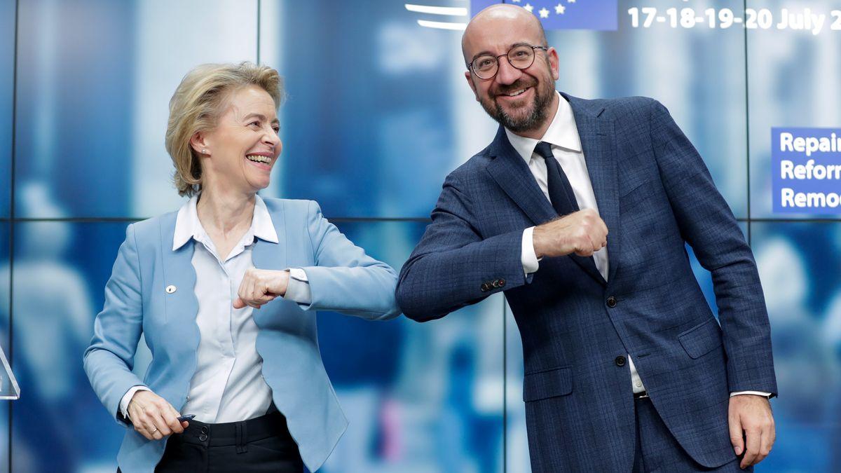 Die Präsidentin der Europäischen Kommission, Ursula von der Leyen, und Ratspräsident Charles Michel.