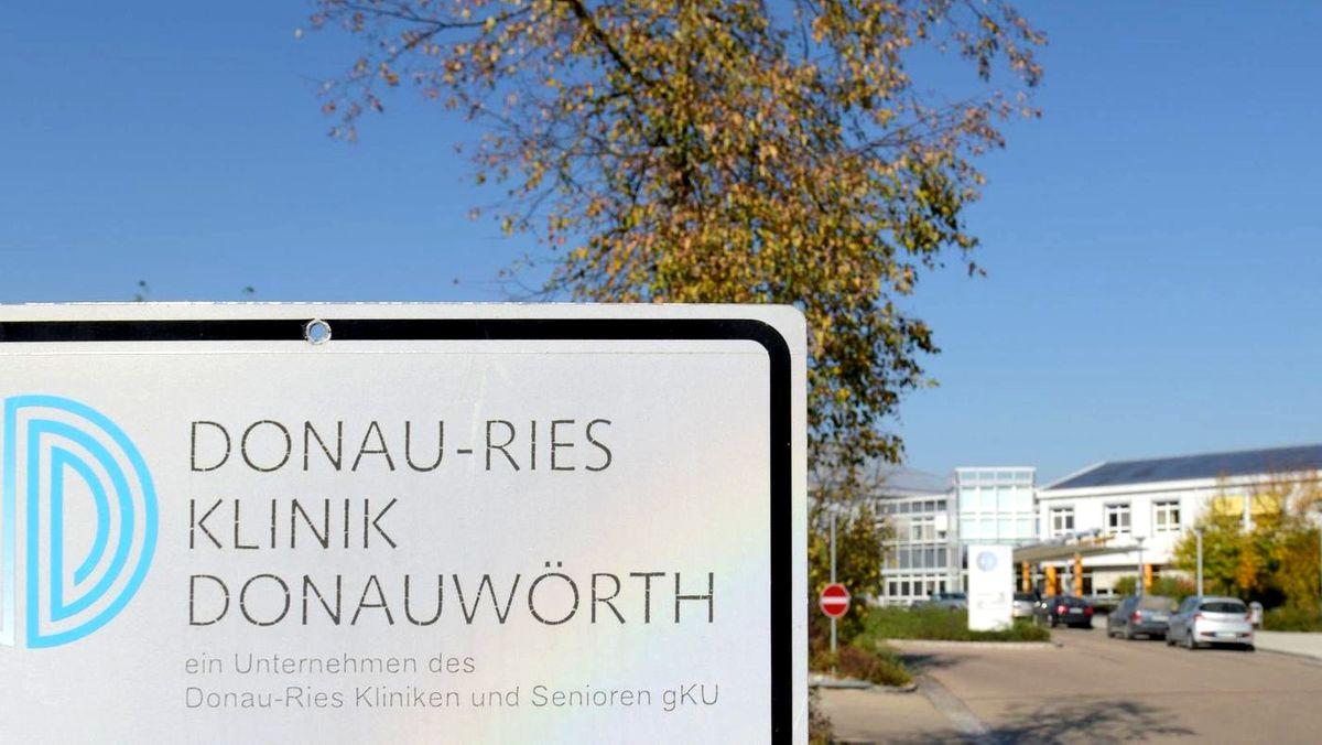 Das Krankenhaus in Donauwörth