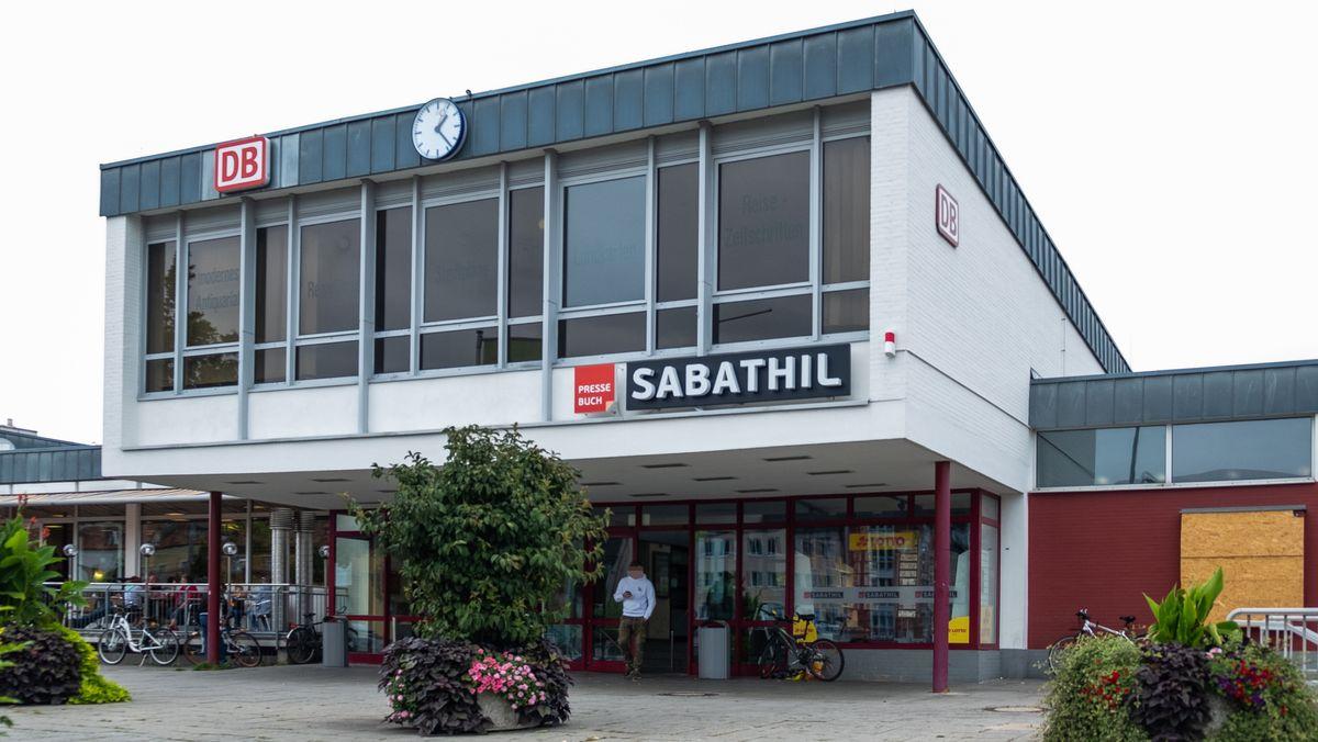 Der Bahnhof in Amberg