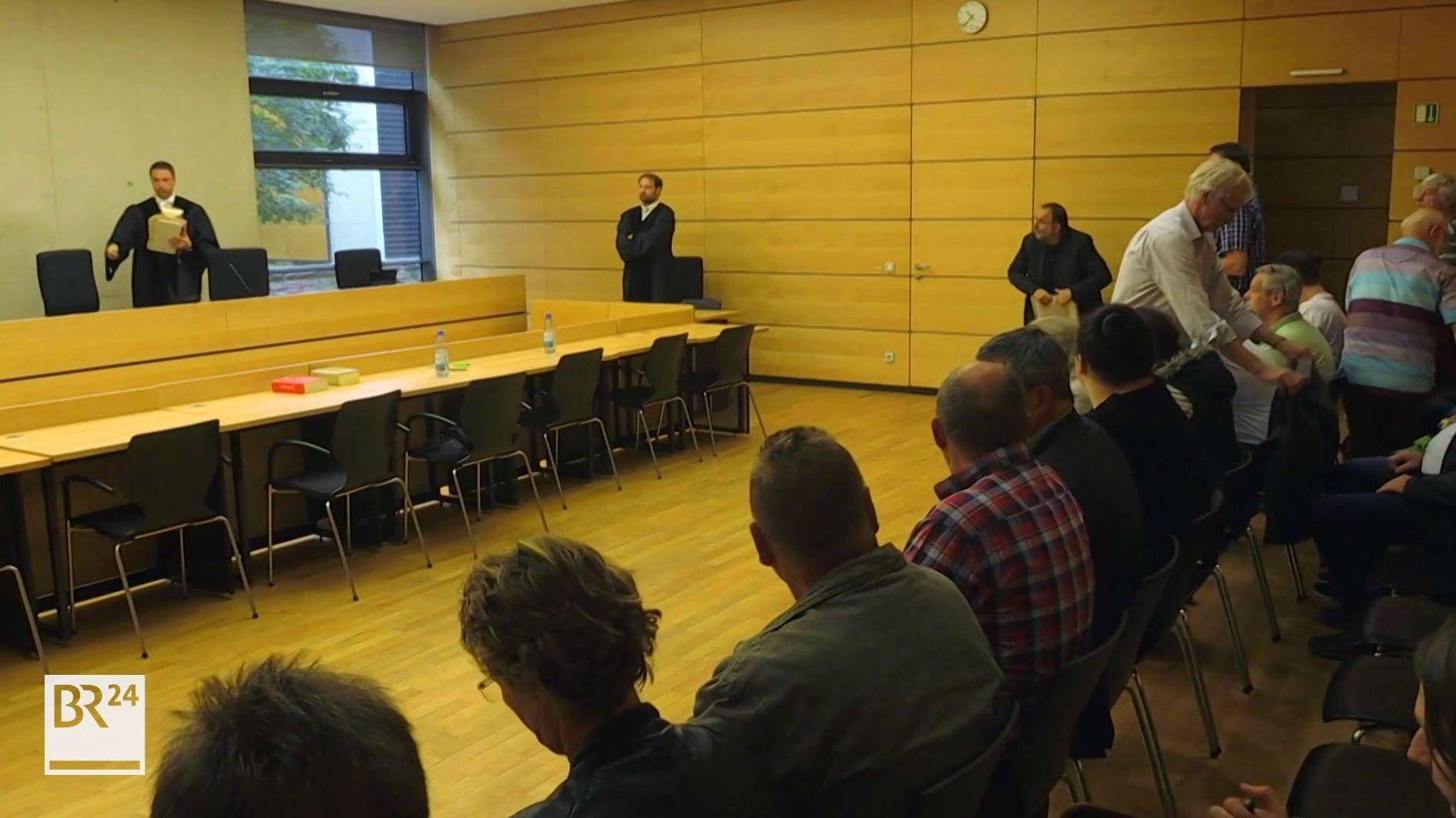 Urteil im sogenannten Giemaul-Prozess