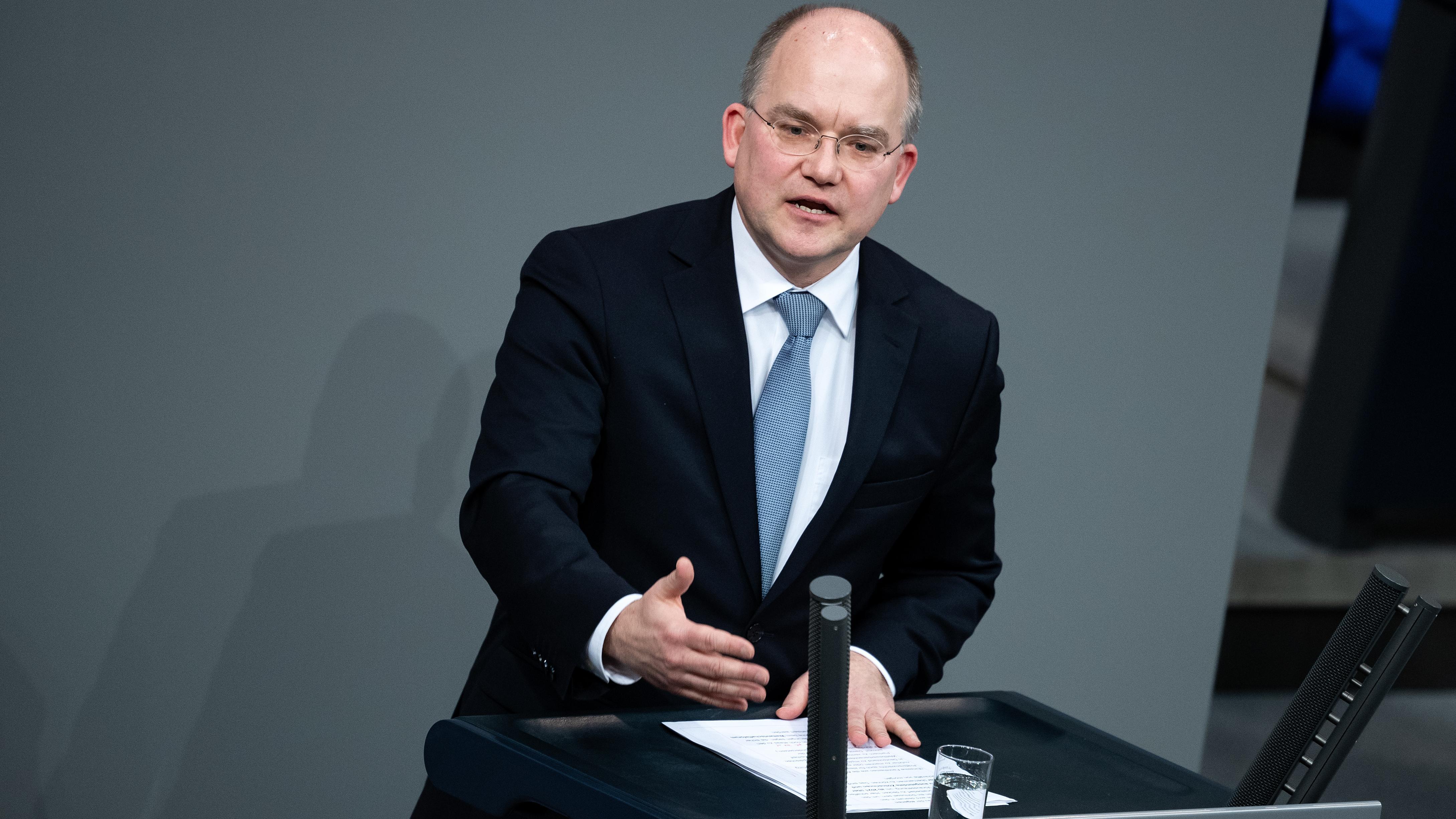 Sebastian Brehm (CSU) im Deutschen Bundestag