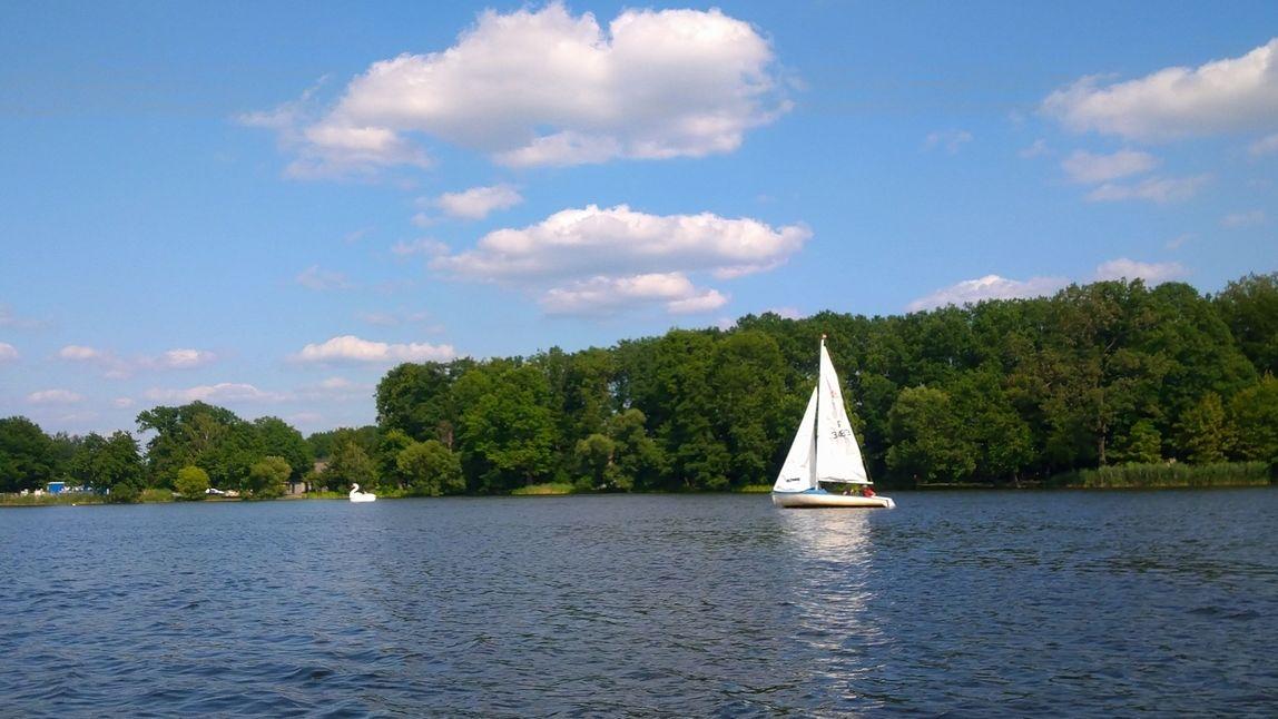 Auch in Nürnberger kann man segeln lernen