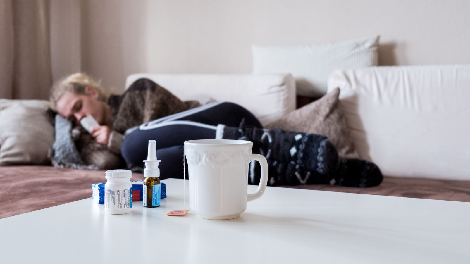 Diese Saison haben sich deutlich mehr Menschen mit Grippeviren infiziert.