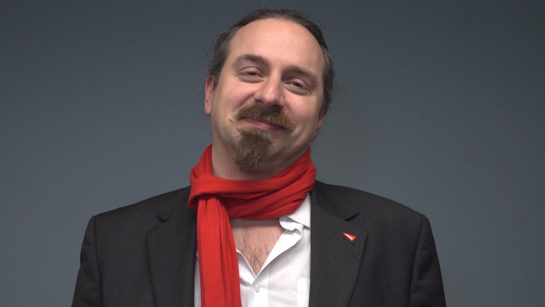 Sebastian Roth, OB-Kandidatin der Linken in Würzburg
