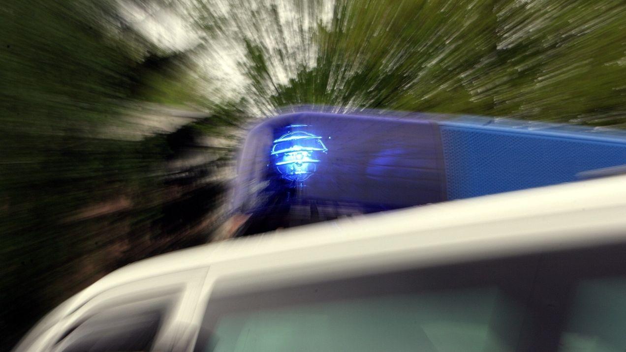 Polizei-Blaulicht (Symbolbild)