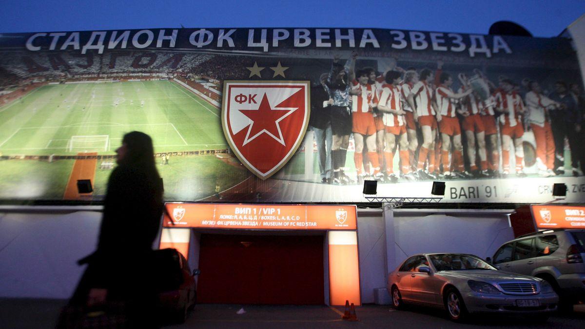 Stadion von Roter Stern Belgrad