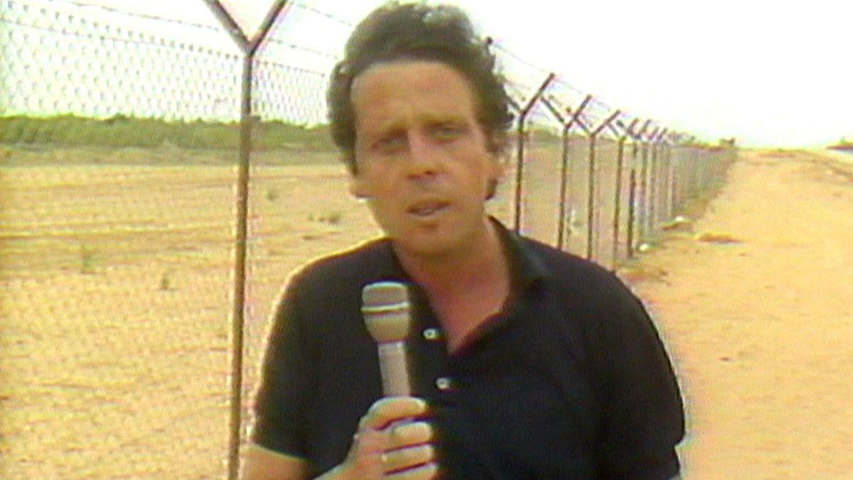 An der Grenze zu Ägypten, 1980.