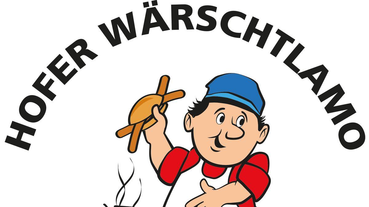 """So sieht das neue Logo für den Hofer """"Wärschtlamo"""" aus."""