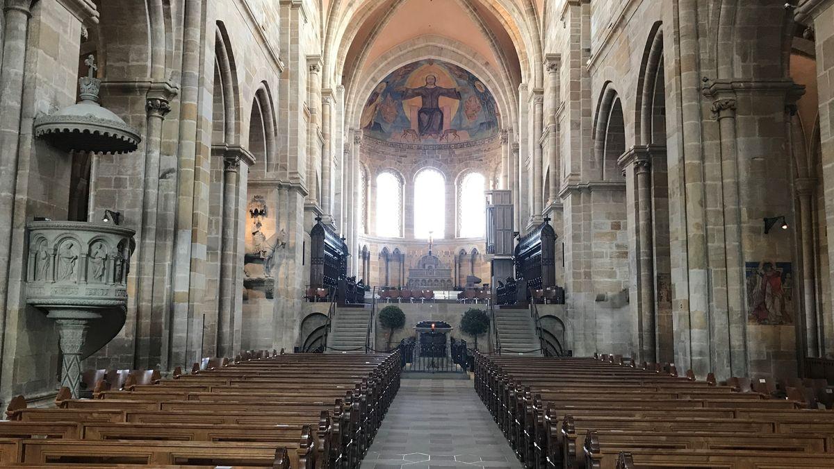 Blick in den Bamberger Dom.
