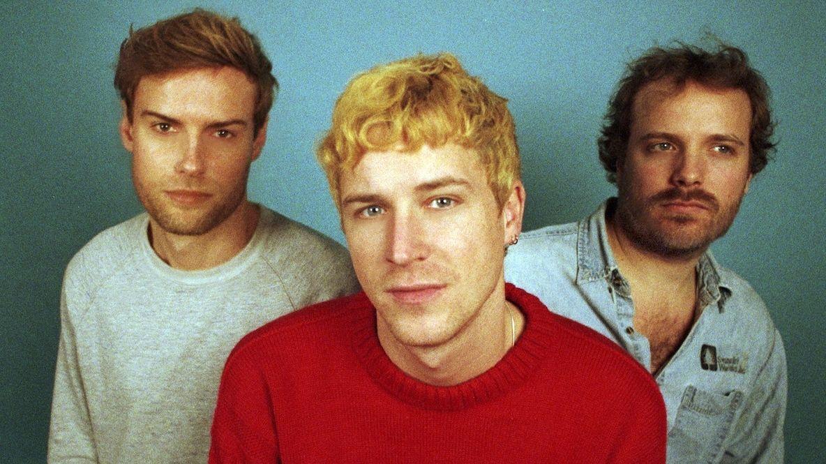 Die drei Musiker der Londoner Indie-Band Palace