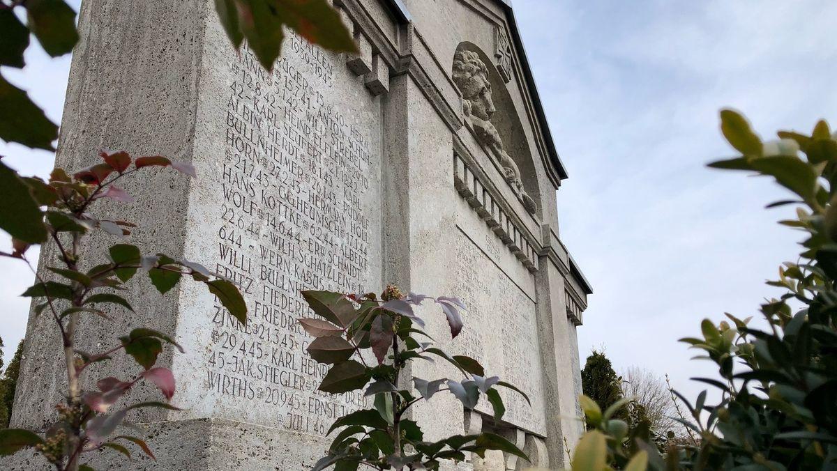 Kriegerdenkmal in Geroldshausen