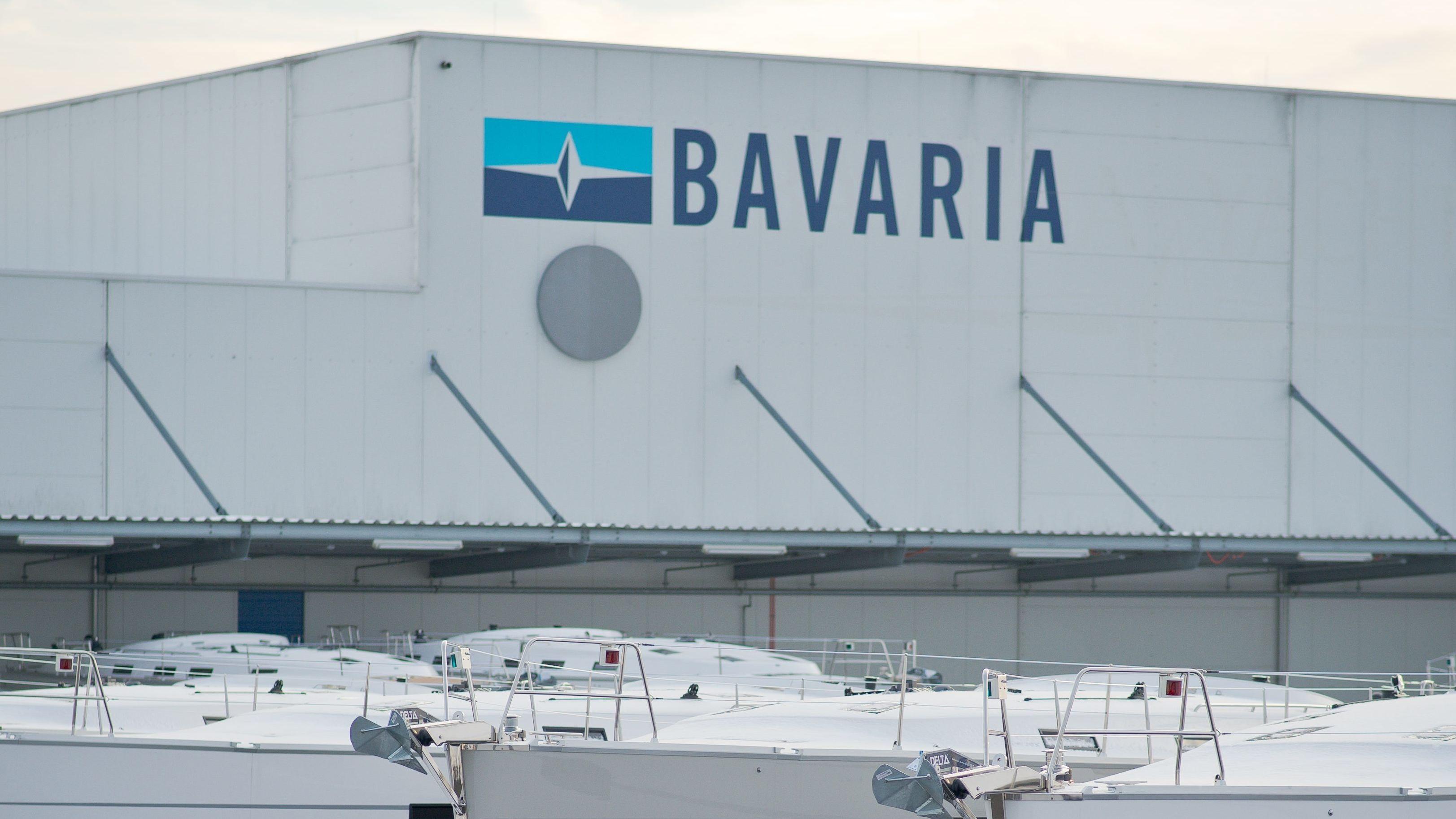 Bavaria-Yacht in Giebelstad