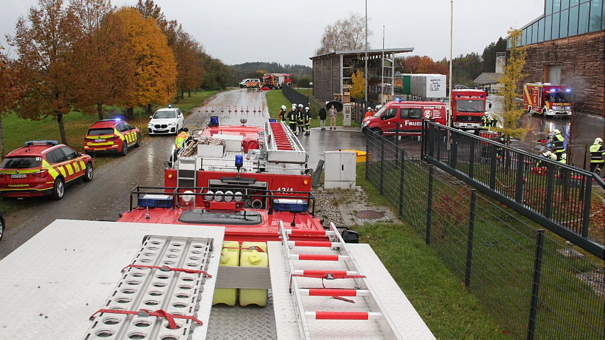 Großeinsatz der Feuerwehren im Kreis Rosenheim