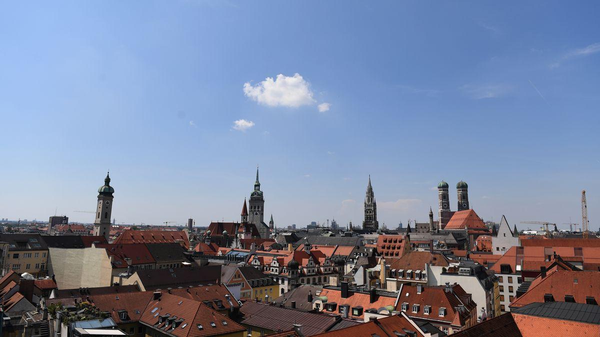 Blick auf München.