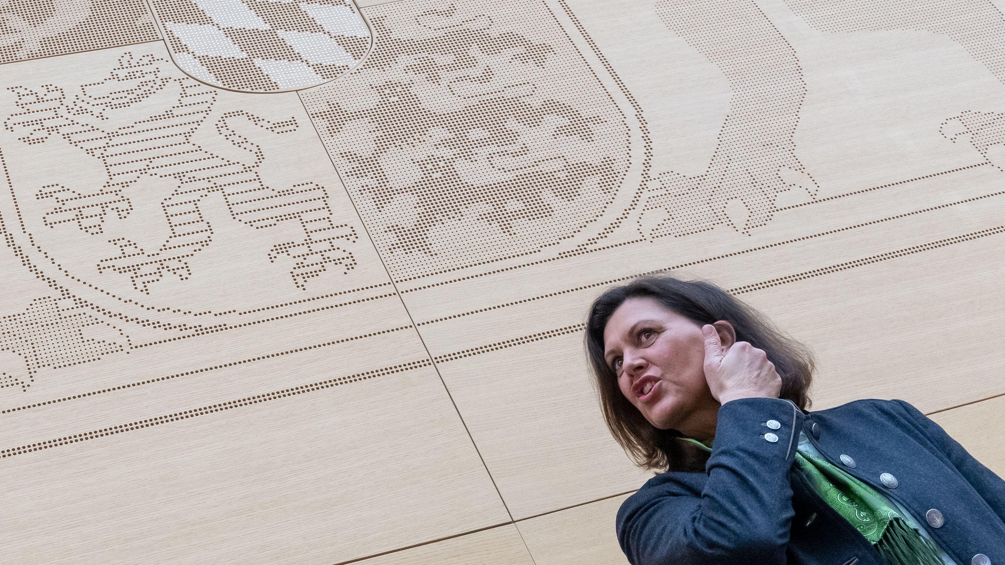Symbolbild: Landtagspräsidentin Ilse Aigner