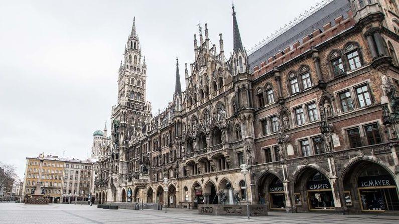 Symbolbild: Marienplatz in München