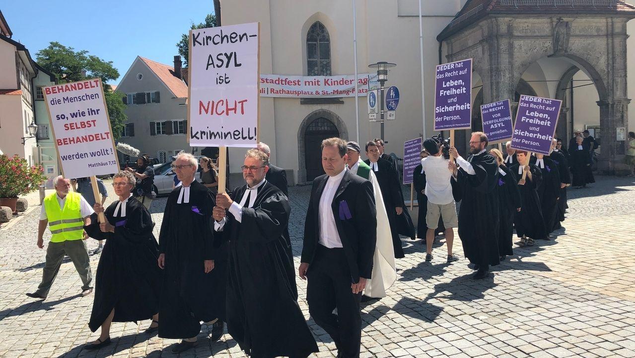 Strafbefehl wegen Kirchenasyl