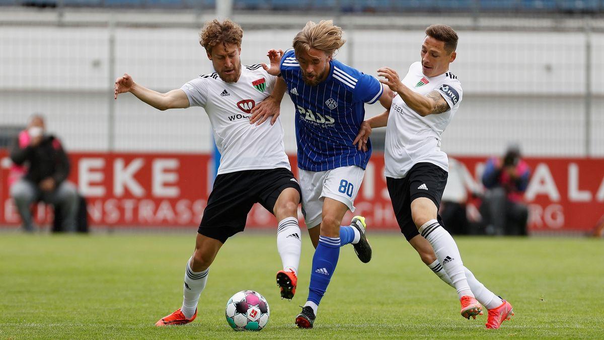 Nächster Sieg für Schweinfurt: 0:2 gegen Viktoria Aschaffenburg