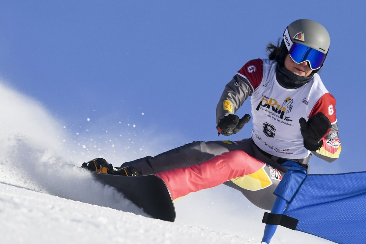 Snowboard - Weltcup in Scuol