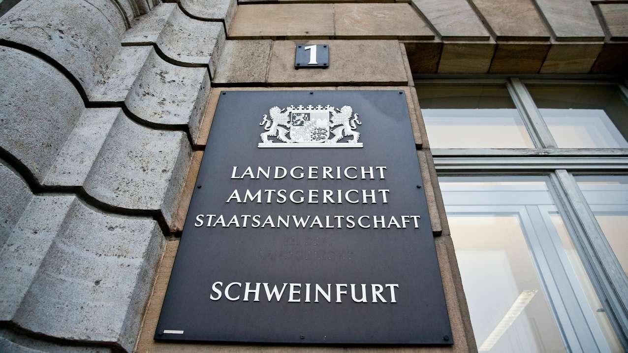 Außenansicht Landgericht Schweinfurt