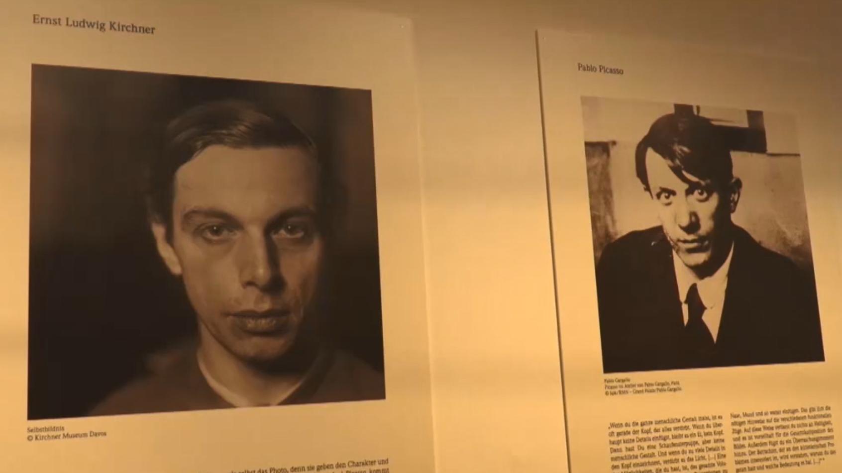 """Ausstellung """"Blickwechsel: Kirchner - Picasso"""" in Aschaffenburg"""