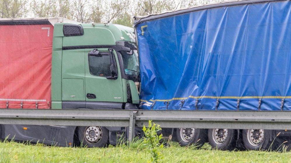Der Lkw-Unfall auf der A3 bei Hengersberg