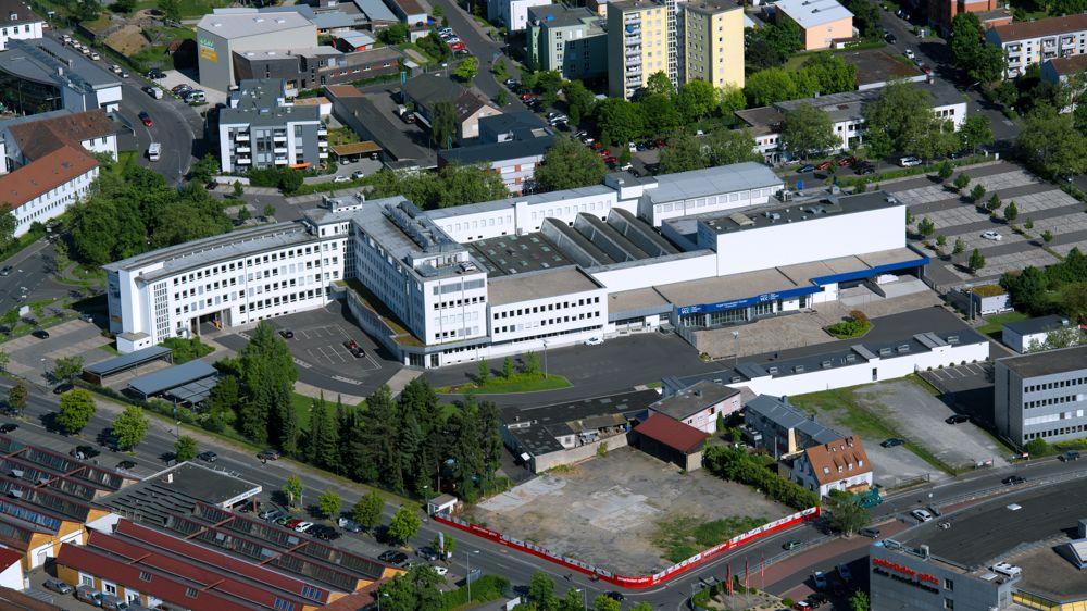 Firmensitz der Vogel Communications Group in Würzburg