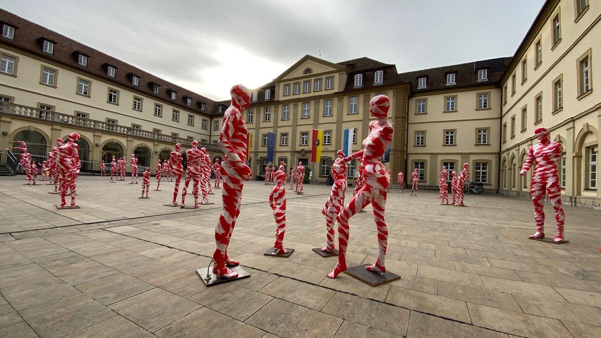 Corona-Mahnmal in Würzburg