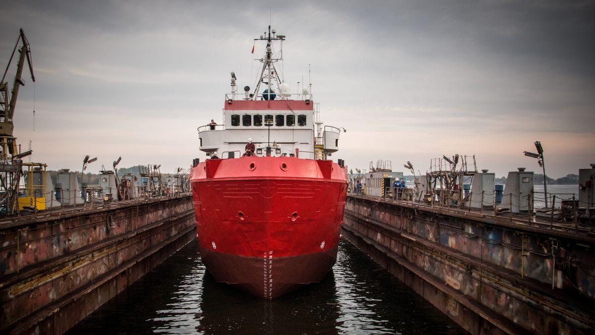 Das neue Schiff der Regensburger Seenotrettungsorganisation Sea-Eye