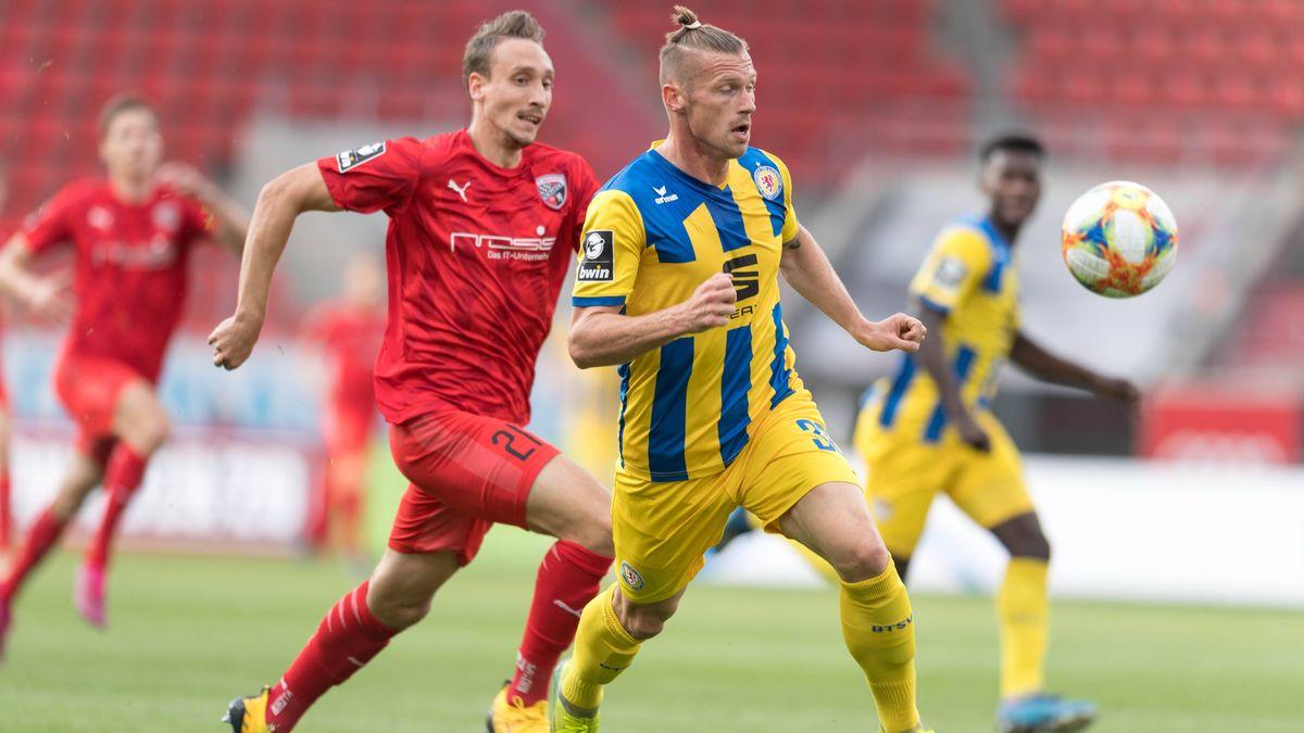 Spielszene FC Ingolstadt - Eintracht Braunschweig