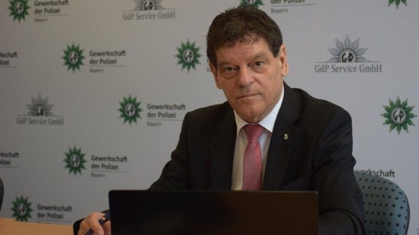 Peter Pytlik, neuer Vorsitzender der GdP Bayern.