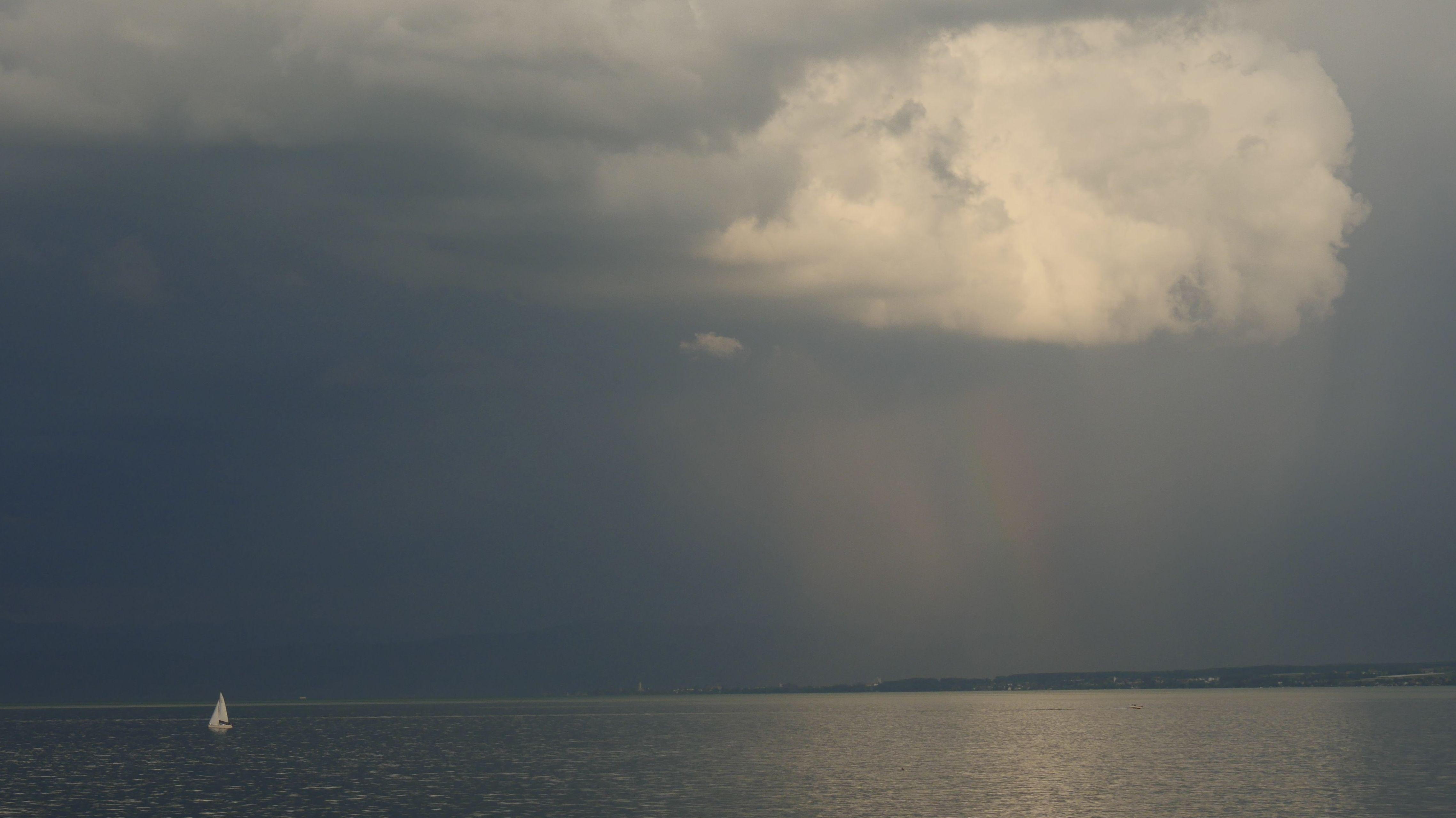 Wolken über dem Bodensee