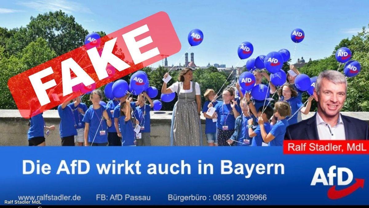 Landtagspräsidentin Ilse Aigner hat Strafantrag gegen den AfD-Abgeordneten Ralf Stadler gestellt. Anlass ist ein inzwischen gelöschter Facebook-Beitrag, in dem ein verfälschtes Foto zu sehen ist. Aigner sieht darin eine erhebliche Rechtsverletzung.