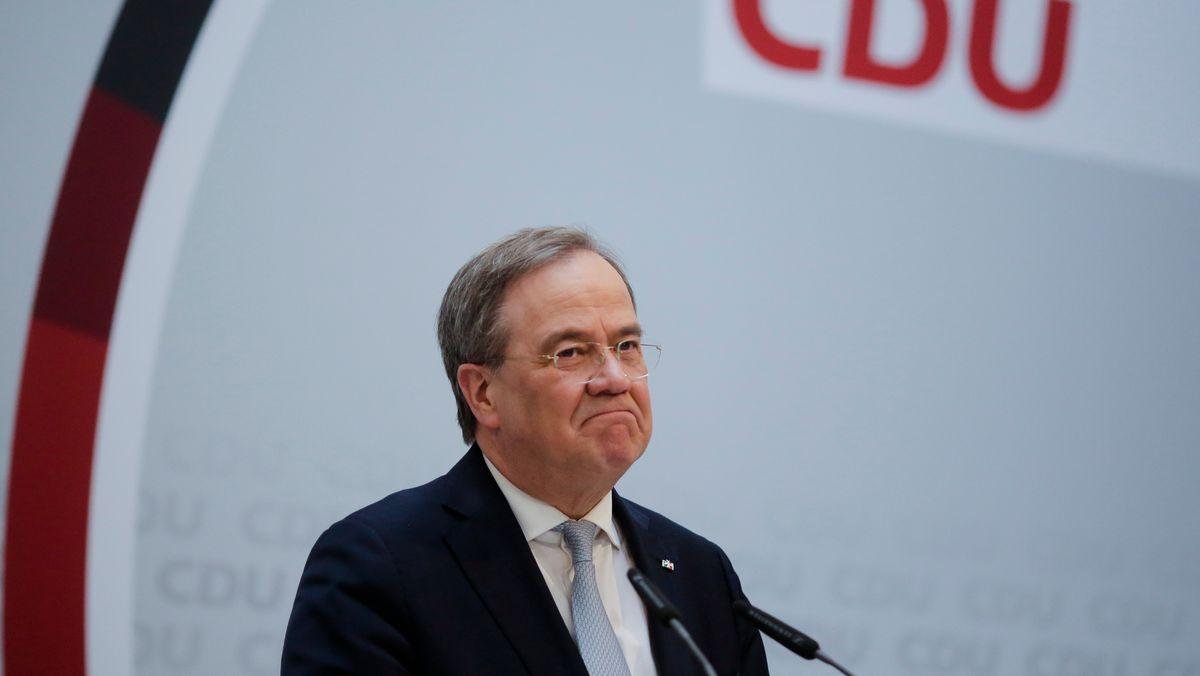 Armin Laschet, CDU-Chef und Ministerpräsident von Nordrhein-Westfalen.