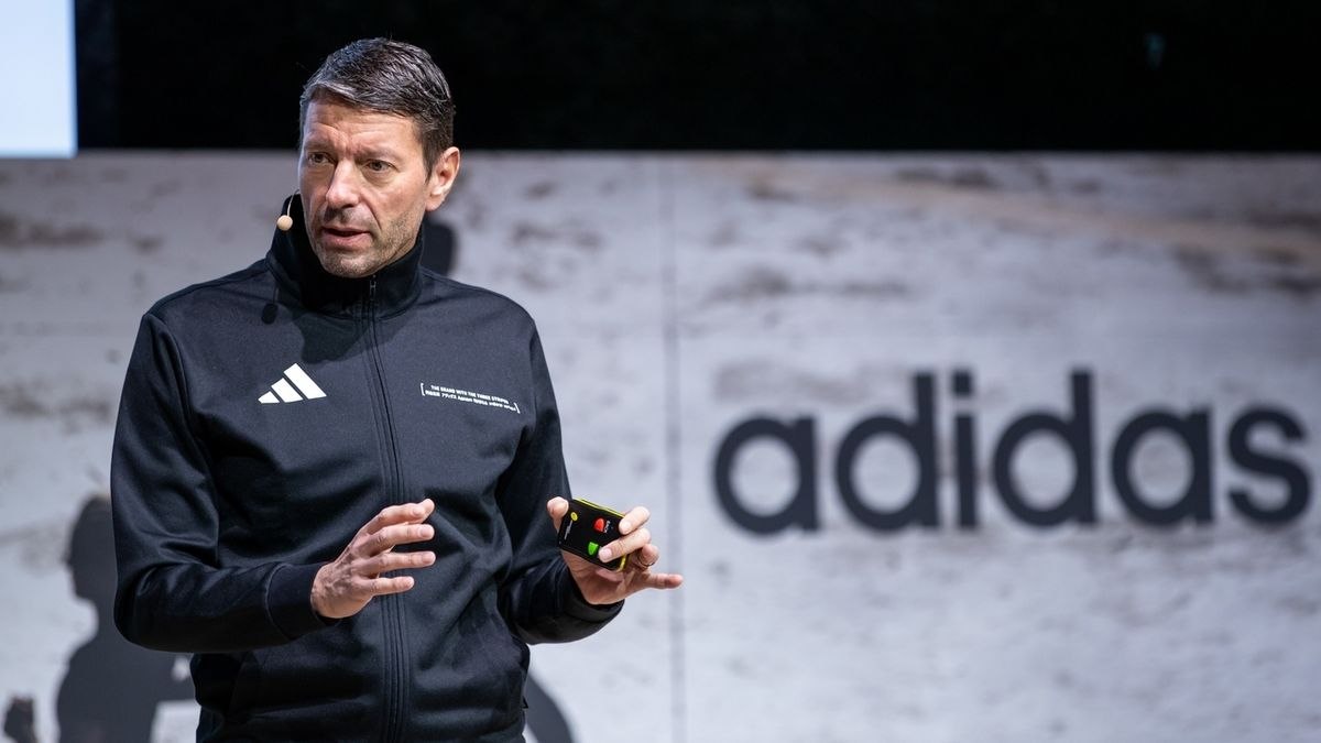 Kasper Rorsted, Vorstandsvorsitzender des Sportartikelherstellers Adidas